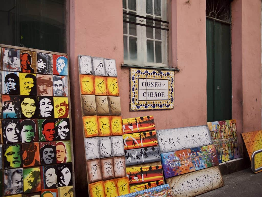 Shops of the Pelourinho